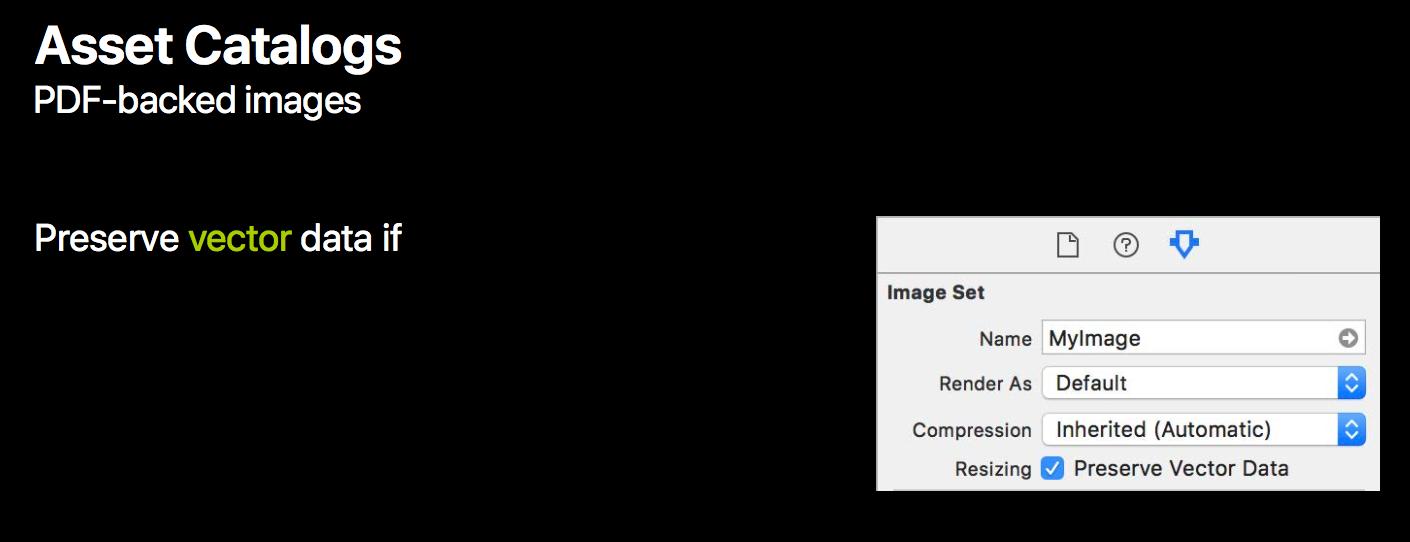 The Unexpected Joy of Vector Images in iOS 11 — Erica Sadun